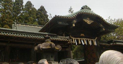 仙台東照宮の例祭がありました。