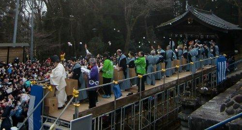 仙台東照宮の第30回節分祭